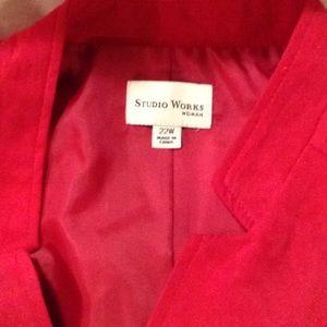 Studio works woman  jacket  new size 20w